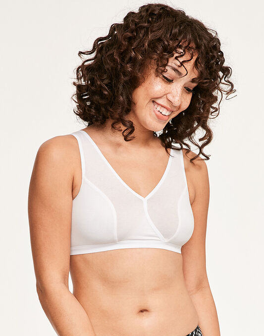 Comfort Caress Cotton-Modal Sleep Bra