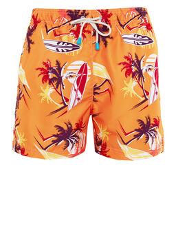 Oiler & Boiler Tuckernuck Print Swim Short