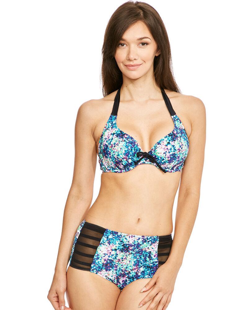 Cosmic Bandless Halter Bikini Top