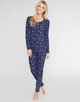 figleaves Starry Night Long John Set