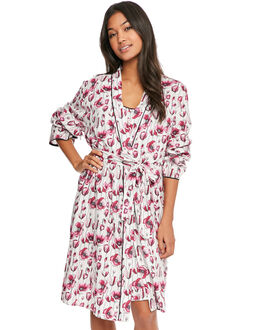 Cyberjammies Stephanie Print Short Robe