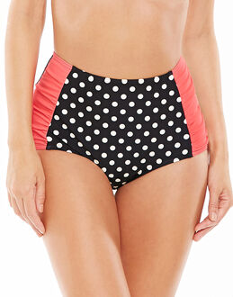 figleaves Tuscany Spot High-waist Tummy Control Brief