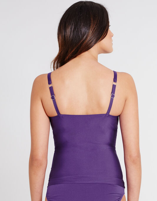 Halle Padded Underwired Plunge Tankini Top