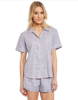 Cyberjammies Lotus Flower Geo PJ Set