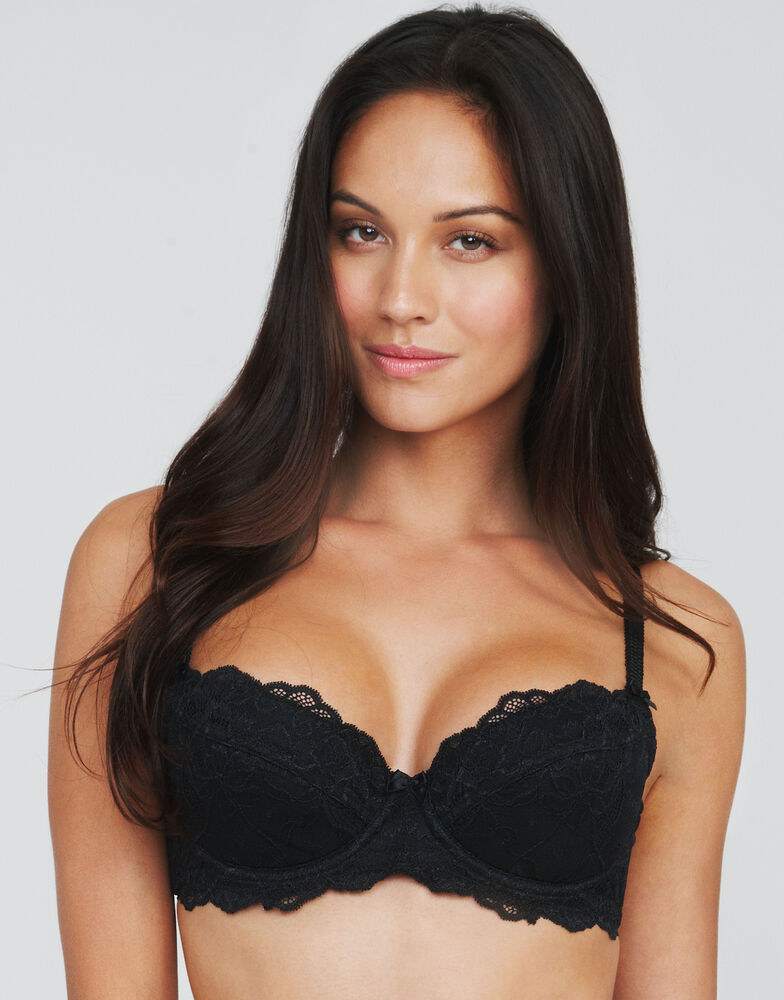 Just Peachy Lace Padded Balconette Bra (A-DD)