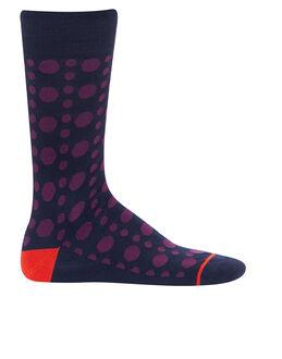 Paul Smith Punch Dot Stripe Sock