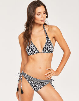 Seafolly Modern Geometry Slide Triangle Top