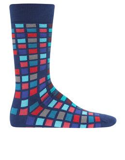 Paul Smith Multi Tile Sock