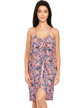 Mimi Beach Jersey Wrap Sundress