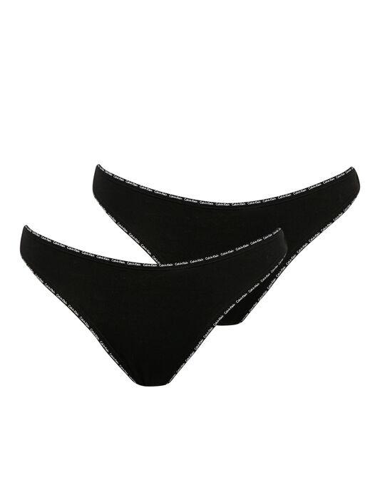 Calvin Klein Cotton Thong 2pk