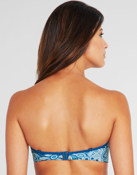 Marisa Bandeau Bikini Top