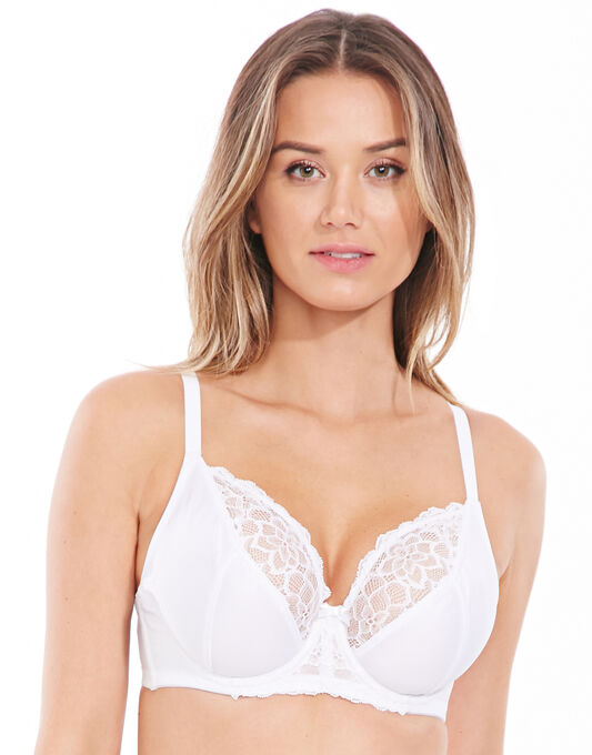 figleaves Perfect Support C-H Full Cup Lace Bra