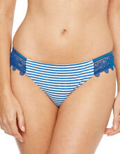 Riviera Stripe Lace Hipster Brief