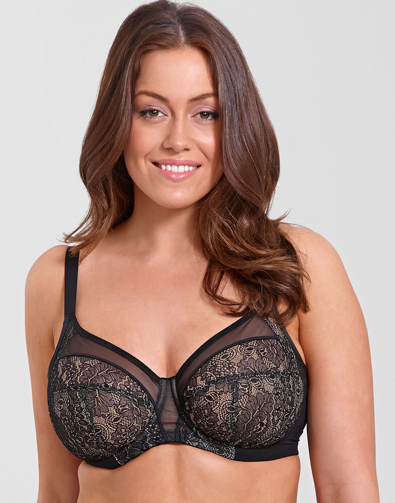 Raquel Underwired Full Cup Banded Bra 1101652