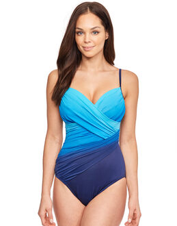Miraclesuit Dip Dye Centerfold Underwired Firm Control Swimsuit