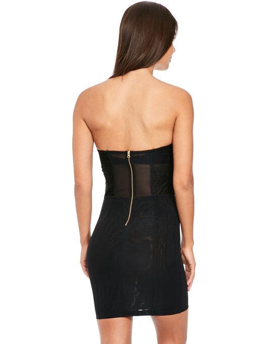 Superboost Strapless Lace Slip Dress