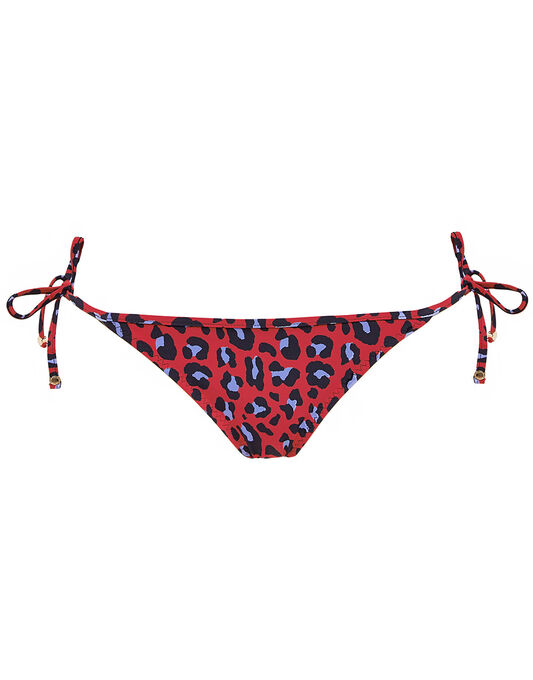 Stella McCartney Mixed Animals Tie Side Bikini Bottom