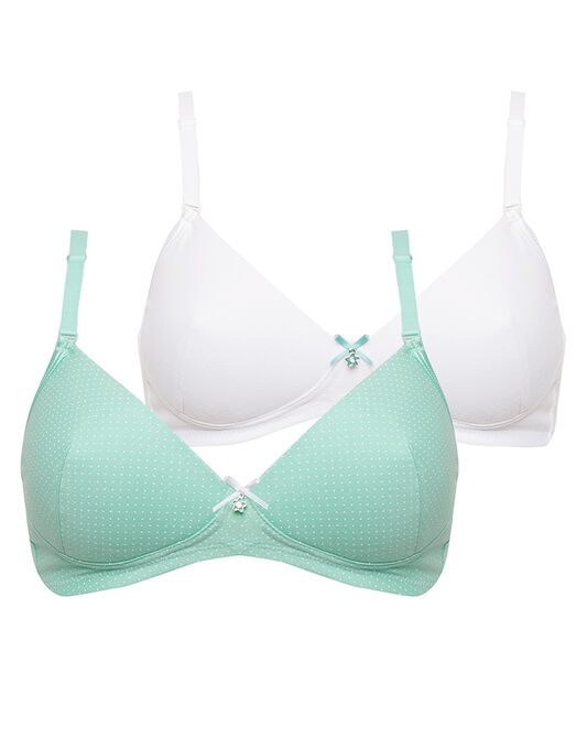 Royce Peppermint Teen Bra