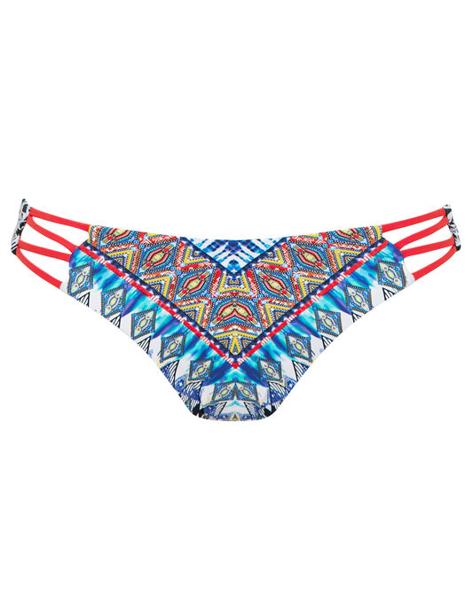 Red Carter Dream Side Cutout Cali Hipster Brief
