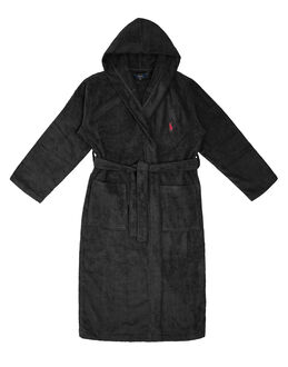 Polo Ralph Lauren Light Weight Terry Hooded Kimono Robe