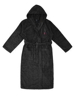 Polo Ralph Lauren Light Weight Terry Hooded Kimono Robe