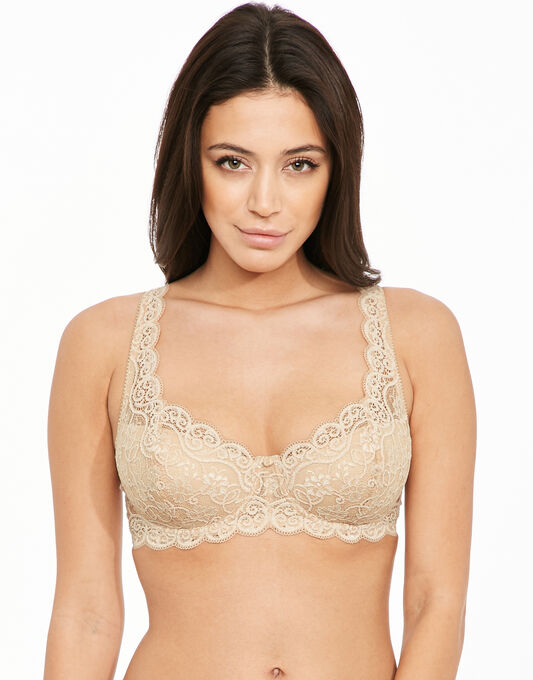 Amourette 300 Underwired Padded Half Cup Bra