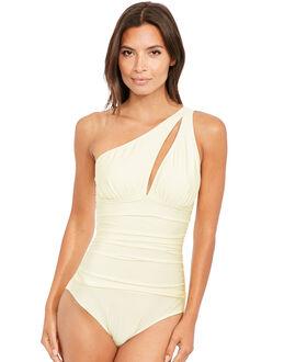 figleaves Priya Soft Asymmetric Tummy Control Swimsuit