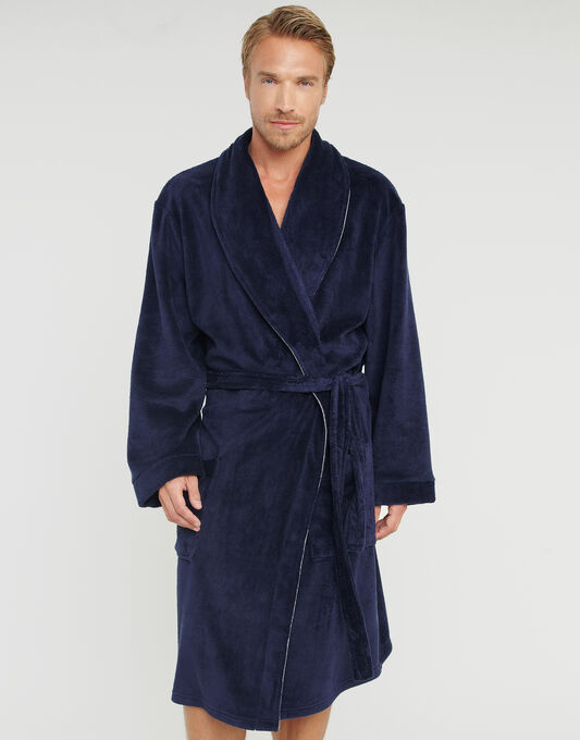 Luxury Supersoft Piping Robe