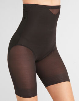 Miraclesuit Shapewear Sexy Sheer Hi-Waist Thigh Slimmer