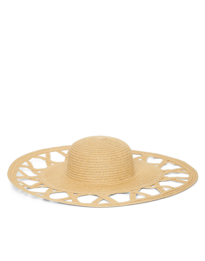 Cannes Cut Out Floppy Hat 1139082