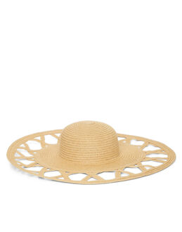 Helene Berman London Cannes Cut Out Floppy Hat
