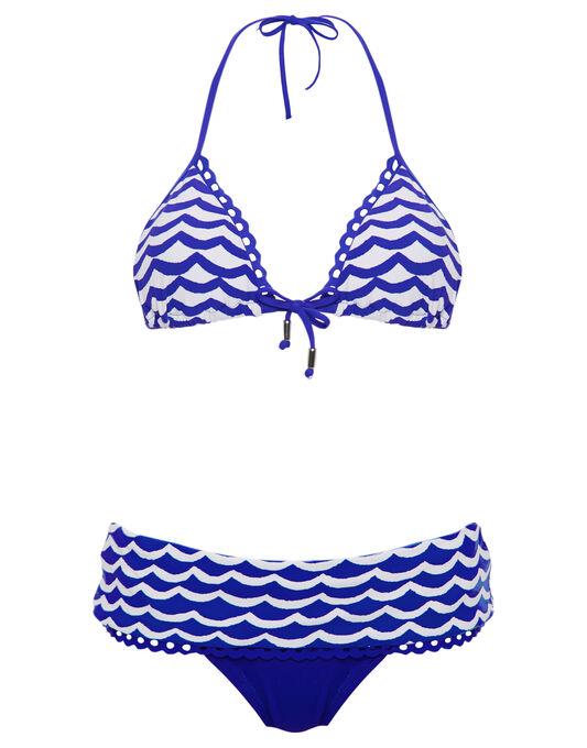 Seafolly Tidal Wave Slide Triangle Bikini Top