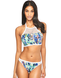Freya Swim Evolve Underwired Padded Hi-neck Crop Top