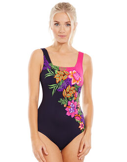 Zoggs Tropical Garden Squareback Swimsuit