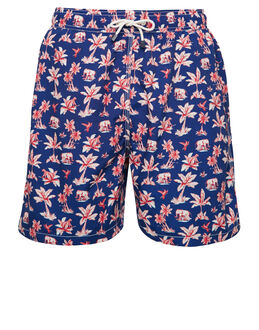 Hackett Safari Volley Swim Short