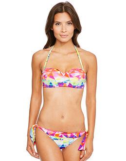 Seafolly Future Sound Bustier Bandeau Bikini Top