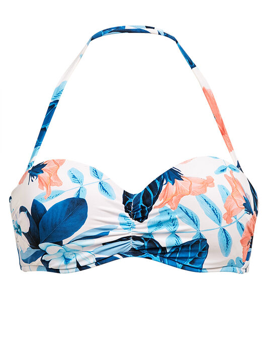 Seafolly Tropical Vacay Bustier Bandeau