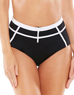 figleaves Dive In High-Waisted Scuba Tummy Control Brief