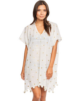 Seafolly Spice Temple Metallic Jacquard Kaftan