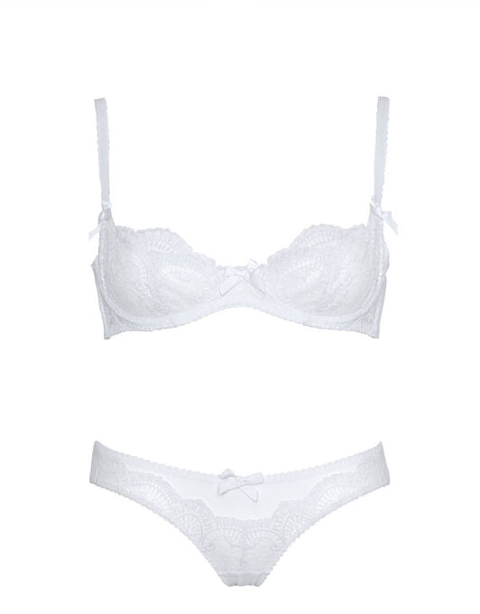 L'Agent by Agent Provocateur Vanesa Non-Padded Demi Cup Bra