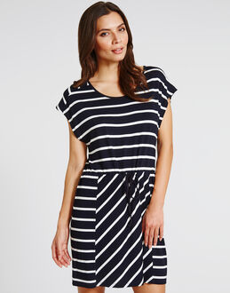 figleaves Coco Beach Stripe Dress
