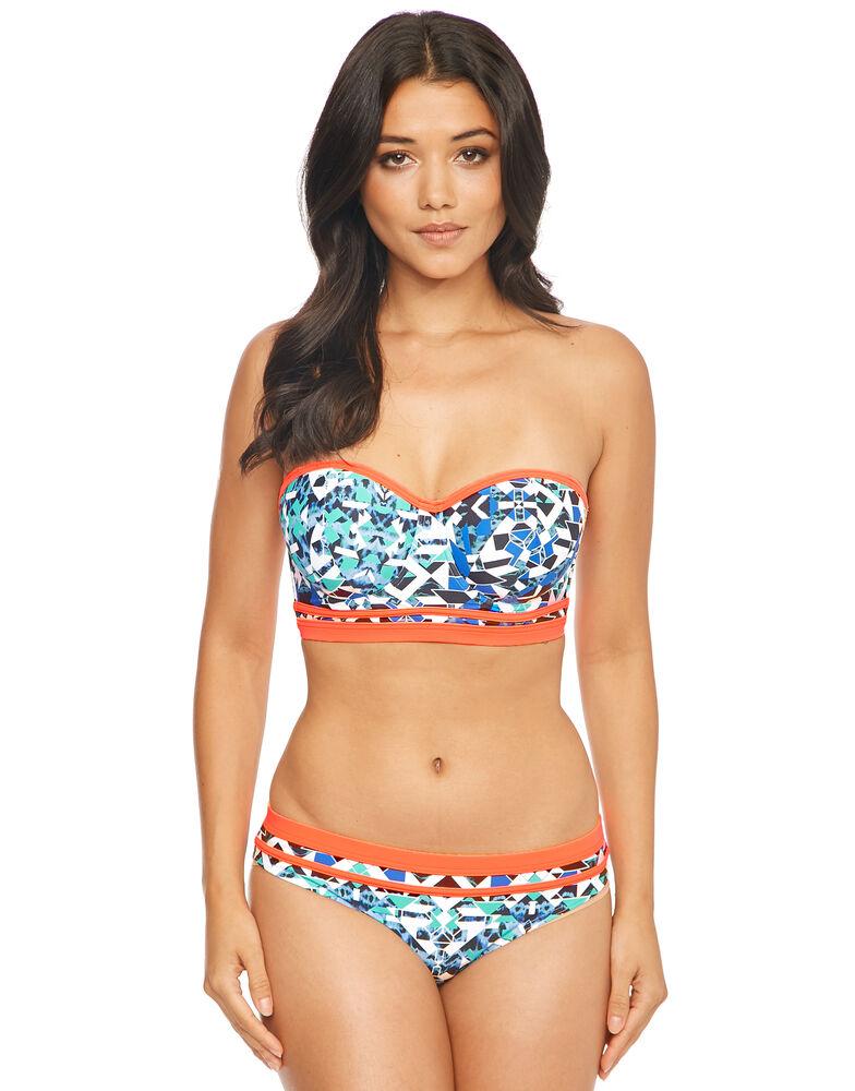 Mayan Underwired Longline Bikini Top