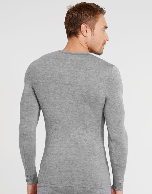 Luxury Modal Wool Blend Thermal LS Tee