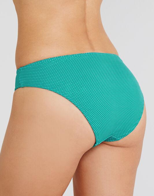Cherish Pin Spot Classic Print Bikini Brief