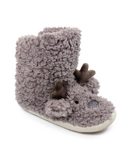 Ruby&Ed Rudy Reindeer Cloud Boot Slipper