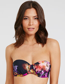 Ted Baker Cascading Floral Core Cup Catto Padded Bikini Top