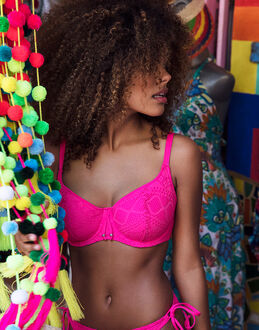 Freya Swim Sundance Underwired Sweetheart Padded Bikini Top