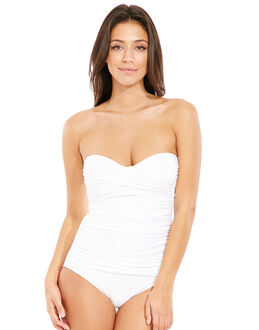 Seaspray Just Colour Control Bandeau Swimsuit