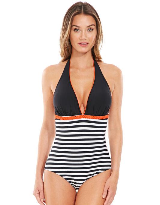 Tuscany Stripe Tummy Control Swimsuit
