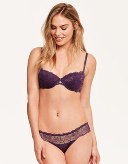 Calvin Klein CK Black Balconette Push Up